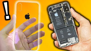 I have a transparent iPhone! (Special edition)