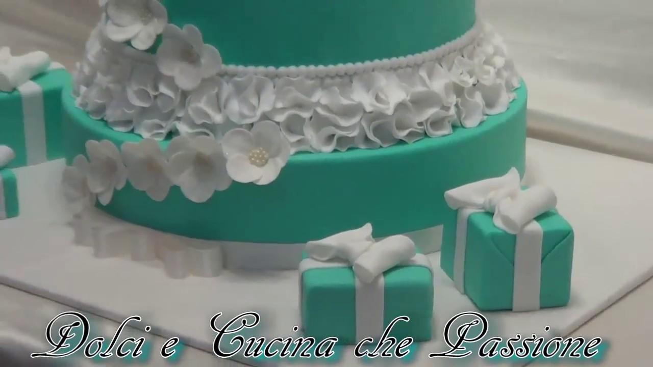 Torta in Pasta di zucchero 18 compleanno  YouTube