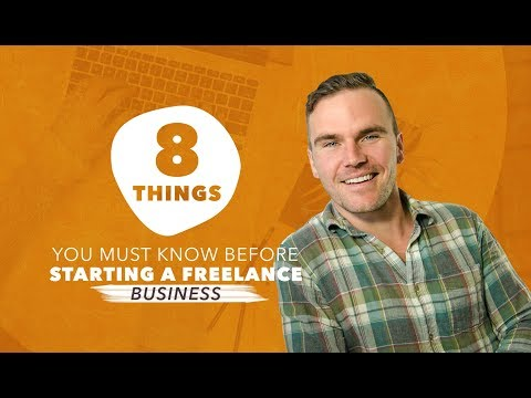 Free Webinar: 8 Things You Need To Know Before Starting Your