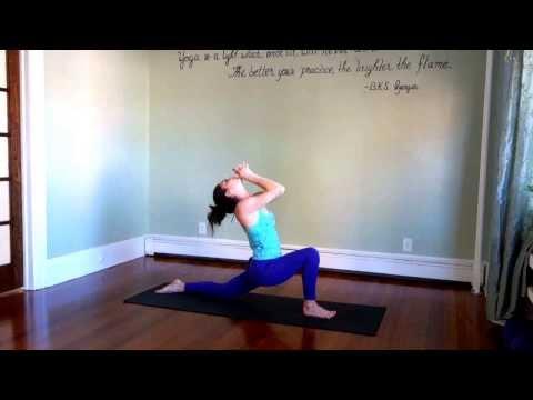 30 Minute Intermediate Yoga Workout | Juicy Heart Opening Yoga Flow  | Joy | Love | Ecstatic Play