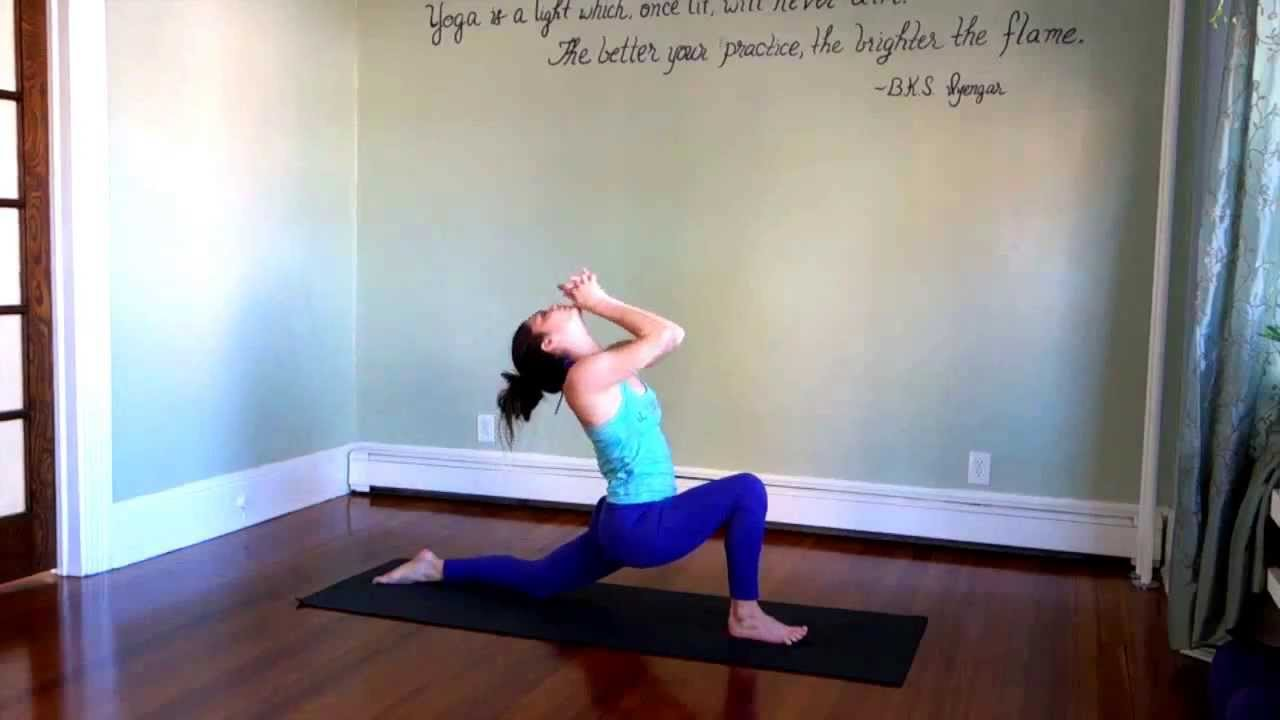 30 Min Yoga Workout Created by Leigha Butler