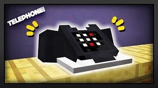 Minecraft - How To Make A Telephone