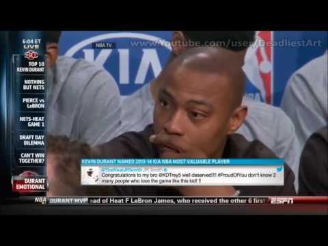 Kevin Durant thanks Caron Butler