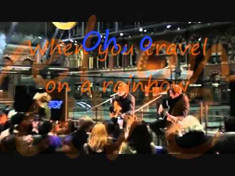 Karaoke - On A Rainbow - Carrie & Tom Fletcher