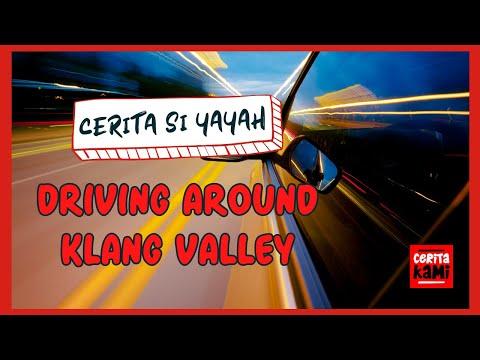 Driving in Klang Valley - Malaysia ( Kuala Lumpur, Putrajaya, Puchong, Petaling Jaya)