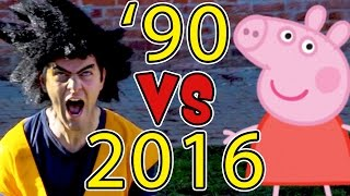 ANNI 90 VS 2016 - Le Differenze - iPantellas