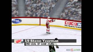 FOX Sports NHL Championship 2000 - Gameplay PSX / PS1 / PS One / HD 720P (Epsxe)