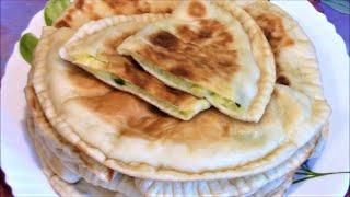 Пирожки с картошкой печеные на сковороде ./Картошка рецепт ./Пирожок тесто ./Пирожок рецепт .