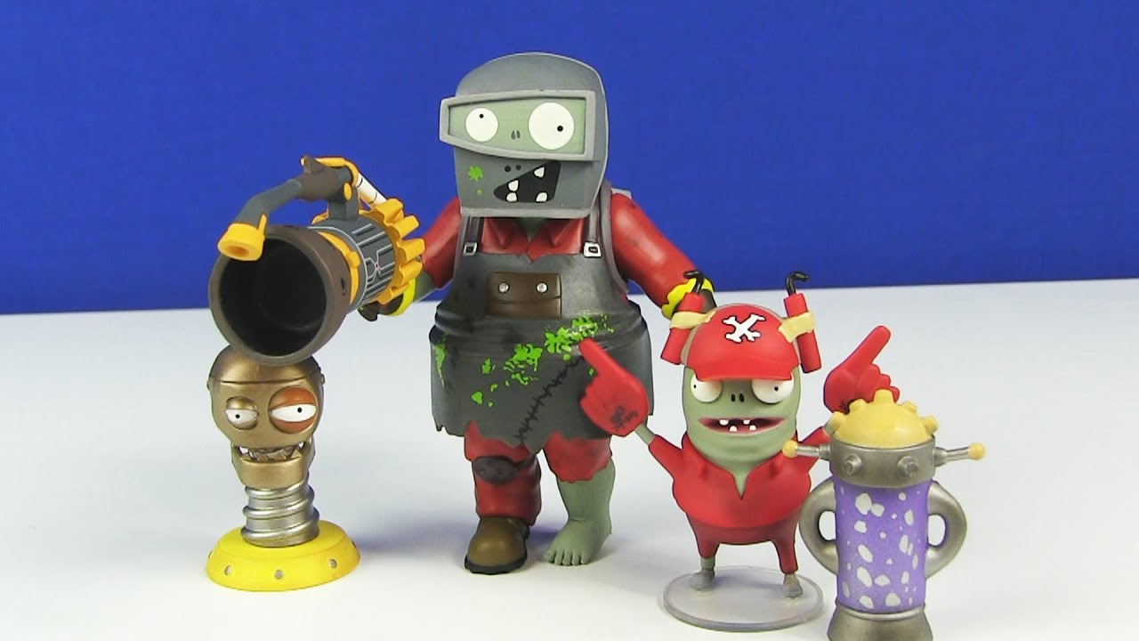 Zombies Garden Warfare Welder Zombie Accesory Pack Toy Review You