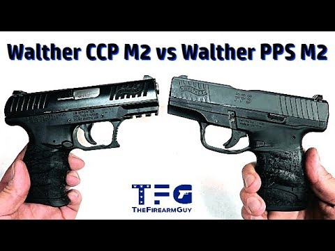 Walther CCP M2 vs Walther PPS M2 (Table & Range Comparison) - TheFireArmGuy