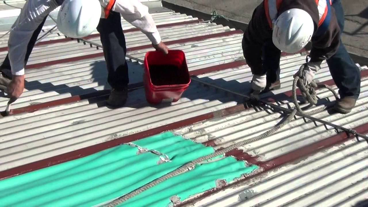 Firestone Fluid Applied Metal Roofing Systems   YouTube