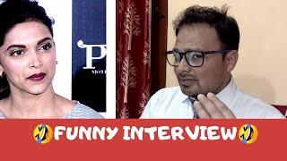 Funny Drug Case : Deepika Padukon Being Questioned By Fake News Reporter  | Sara Ali Khan | NCB