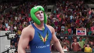 WWE 2K18 - Logan Paul vs KSI || KO Boxing Match