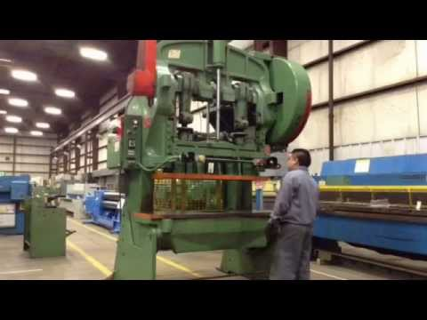 Used 60 Ton Bliss Model 106-A Press, #26746
