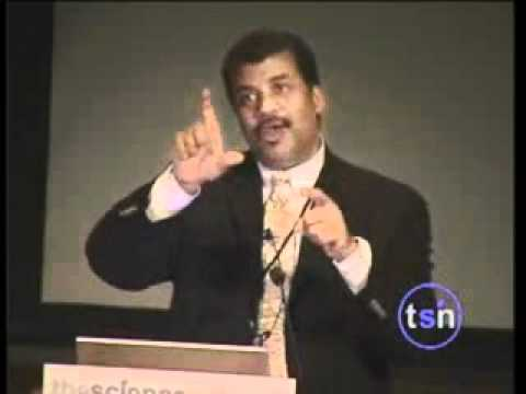 Neil Tyson presentation about intelligent design