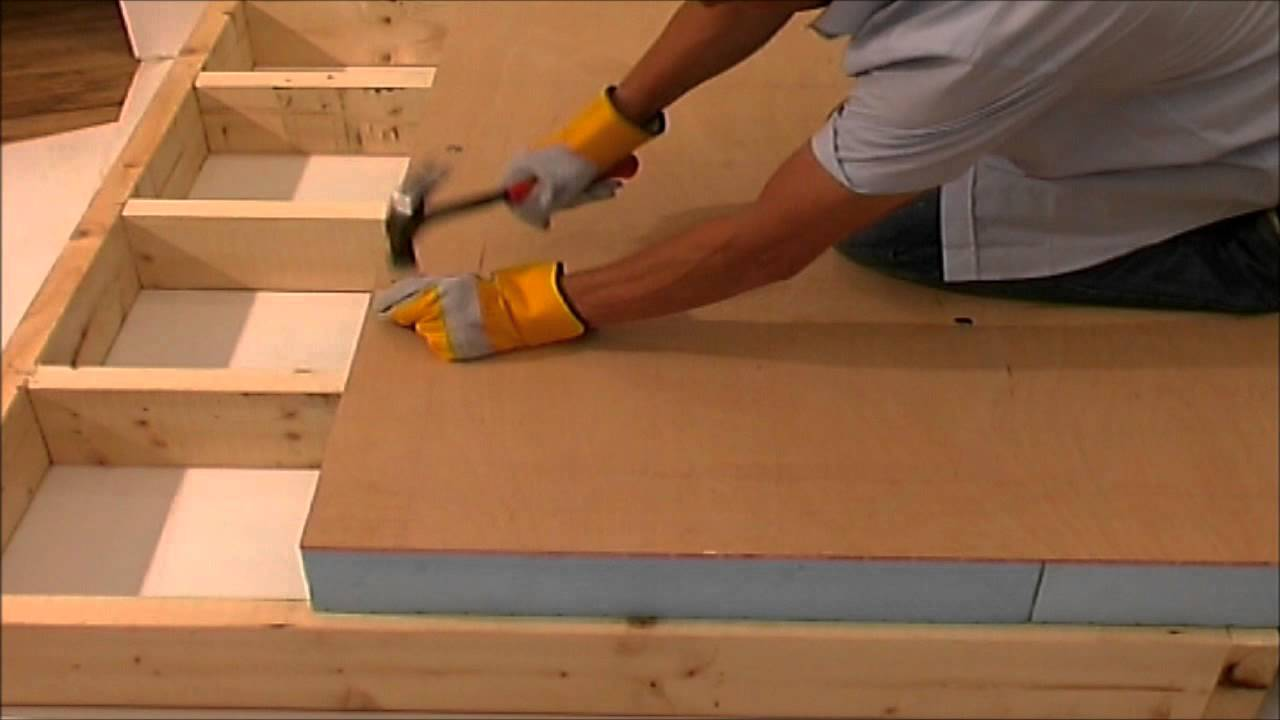 Flat Roof Insulation Fixing Wmv Youtube