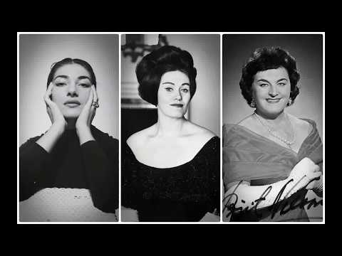 Maria Callas, Joan Sutherland and Birgit Nilsson Fail Moments