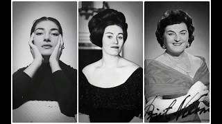 Maria Callas, Joan Sutherland and Birgit Nilsson in Bad Moments