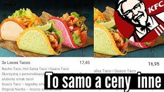 Różne ceny w KFC | Empanada z Lidla i komunikacja z obcymi