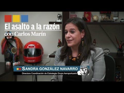 Sandra González Navarro, Directora de Coordinación Estratégica del NAIM | El asalto a la razón