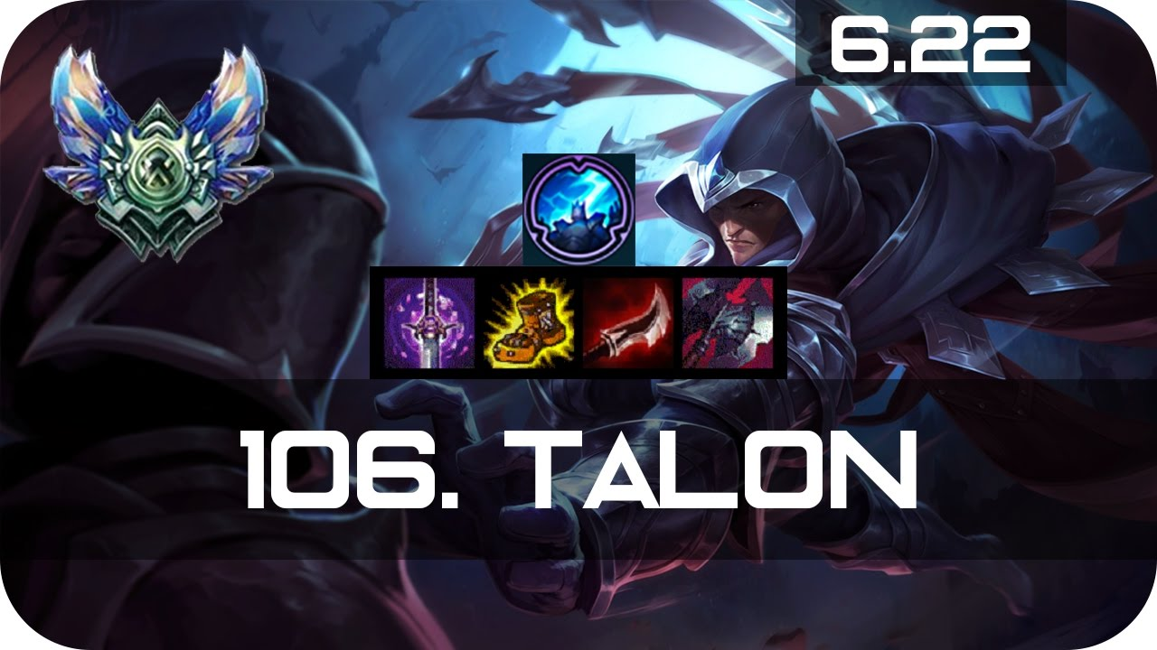 Talon Mid Vs Katarina Diamond Preseason 7 Season 7 S7 Patch 6 22 2017 Gameplay Guide Build Youtube
