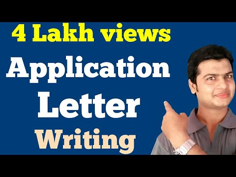 Application   Letters   Learn How to Write An Application & Letters. By Alam