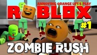 Ärgerliche Orange Plays - Roblox: Zombie Rush #1