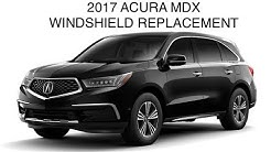 Windshield Replacement 2017 Acura MDX with lane departure warning system