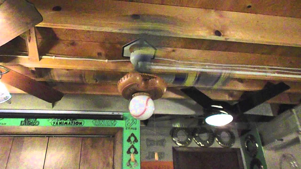 Hunter Quot Baseball Fan Quot Ceiling Fan Youtube