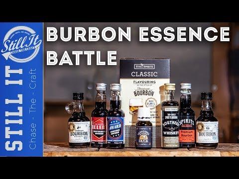 What Bourbon Essence Is Best?  Bracket Challange