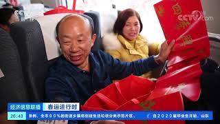 《经济信息联播》 20200112| CCTV财经