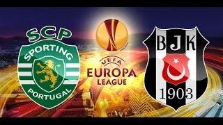 Sporting Lizbon 3-1 Beşiktaş Özet ve Goller (10 Aralık 2015)