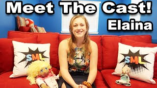 SML Meet The Cast! | Elaina |