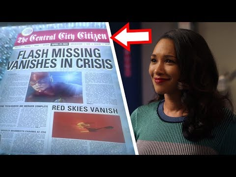 Iris West CONFIRMED to create the 2024 Newspaper! - The Flash Season 5