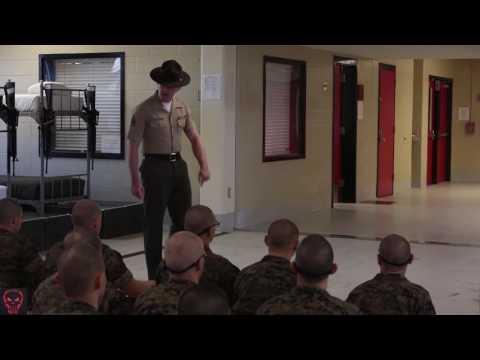 Military | Recruits Meet Drill Instructors • USMC Boot Camp