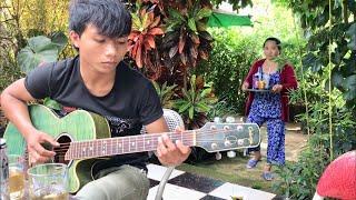 Hoà Tấu Guitar Hay Nhất Trong Quán Cafe Thiên Nhiên | Kiss The Rain ( Drim Nay )