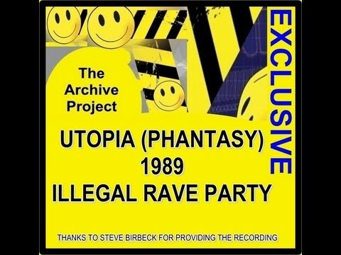 The Archive Project - UTOPIA 1989 ILLEGAL RAVE
