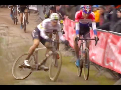 Wout van Aert Has Some Bike Handling Skills? Or some say a motor?
