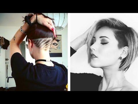 20 Stylish Undercut Bob Haircuts