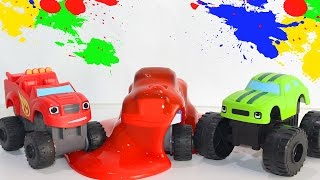 Мультик про Вспыш и чудо машинки все серии подряд на русском Видео про игрушки Вспыш Монстр траки