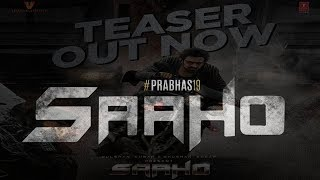 Saaho Movie Teaser Realese | Prabhas | Shraddha Kapoor | Action Movie