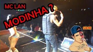 MC LAN FICA BOLADO AO SER CHAMADO DE MODINHA !