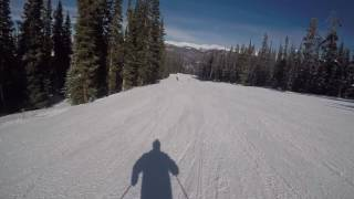 A Run Down Frenchman with Me at Keystone, CO