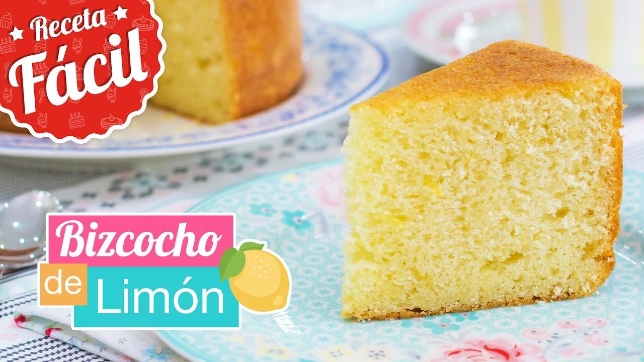 Bizcocho de lim n cl sico receta f cil quiero cupcakes for Bizcocho de yogur de limon esponjoso facil