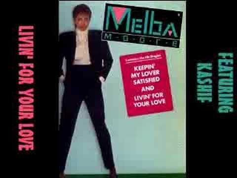 Melba Moore - Livin' For Your Love 1983