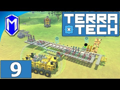 TerraTech - Our New Crafting Base And Resource Storage - Let's Play TerraTech Gameplay Ep 9