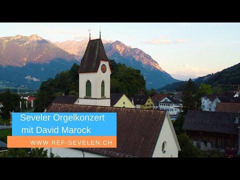 Bach: Orgelkonzert mit David Marock in der reformierten Kirche Sevelen