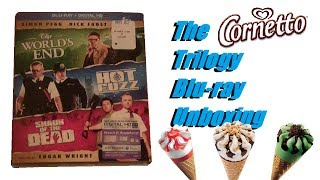 The Cornetto Trilogy Blu-ray Unboxing