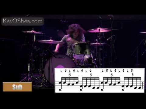 Ilan Rubin - Guitar Center Transcription | Drum Lesson