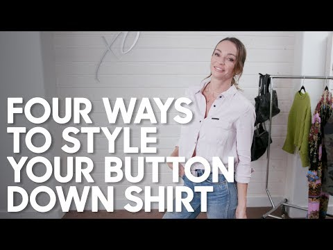 Four Ways To Style Your Button Down Shirt!